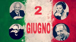 Oggi, 2 giugno: l'Italia celebrata coi suoi artisti più grandi!