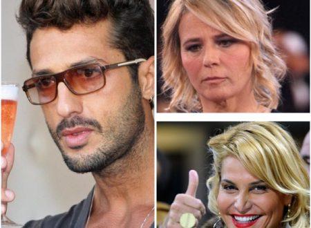 Fabrizio Corona tra Maria De Filippi e Simona Ventura: lo scontro è vicino?