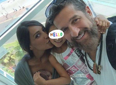 Juliana Moreira ed Edoardo Stoppa presentano ufficialmente il nuovo arrivato!