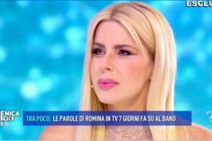 """Romina: """"Io sono ancora sposata con Albano"""" – La replica di Loredana Lecciso a Domenica Live"""