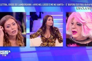 """Talk sui ricchi a Domenica Live – È scontro """"tutti contro tutti""""!"""