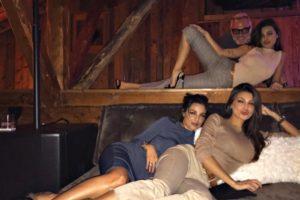 Le tre sorelle Buccino in vacanza sulla neve insieme a Gianluca Vacchi!