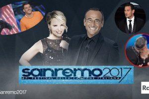 Sanremo 2017: la seconda serata, i migliori cantanti, il bacio di Maria e Robbie, Totti e tutti i VIP!