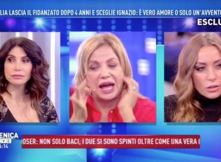 """Domenica Live – È scontro sulla storia di Cecilia Rodriguez – Karina Cascella: """"Donnaccia!"""" – Patrizia Groppelli: """"Come la sorella"""""""