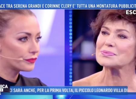 Domenica Live – Karina Cascella chiede scusa a Corinne Clery, ma finisce in lite!