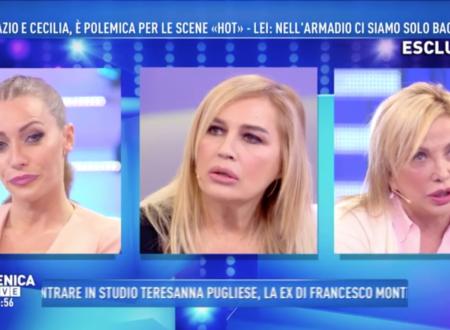 """Domenica Live – Karina Cascella ironica su Cecilia Rodriguez: """"Se si chiudeva l'armadio, sarebbe soffocata!"""""""