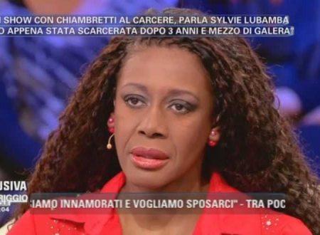 Il ritorno in TV di Sylvie Lubamba!