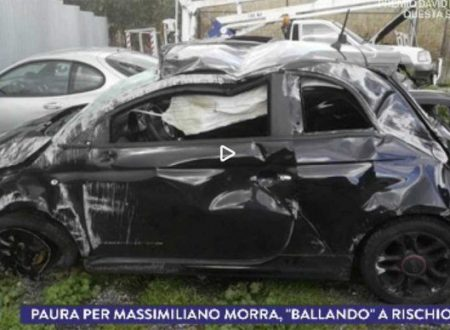 Attimi di terrore per Massimiliano Morra, coinvolto in un brutto incidente stradale!