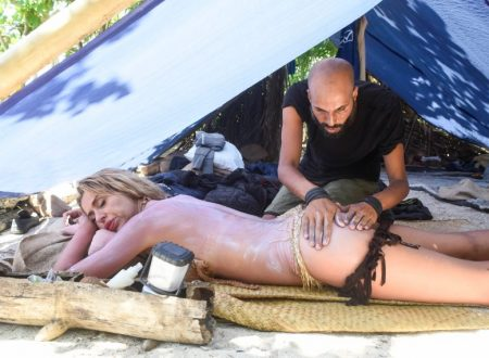 Valeria Marini lascia L'isola dei famosi!