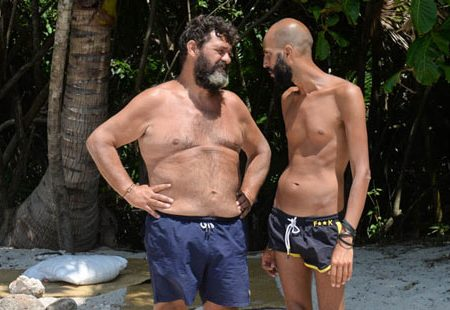 L'isola dei famosi: volano parole grosse tra Franco Terlizzi e Jonathan Kashanian!