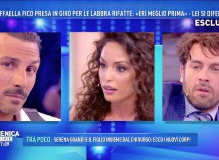 Domenica Live – Accuse contro Raffaella Fico, Emilio Fede e le Mosetti!