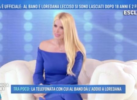 Domenica Live – ESCLUSIVA: Parla per la prima volta Loredana Lecciso!