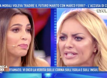 Domenica Live – Volano accuse e parole grosse tra Cecilia Capriotti ed Elena Morali!