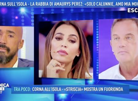 Domenica Live – Amaurys Perez replica alle accuse di aver tradito la moglie!
