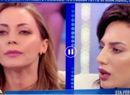 Domenica Live – Patrizia Bonetti attacca Karina Cascella, che però l'asfalta poco dopo!